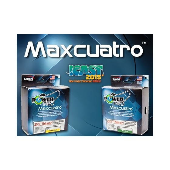 POWER PRO MAXCUATRO BRAID 150YD SPOOL
