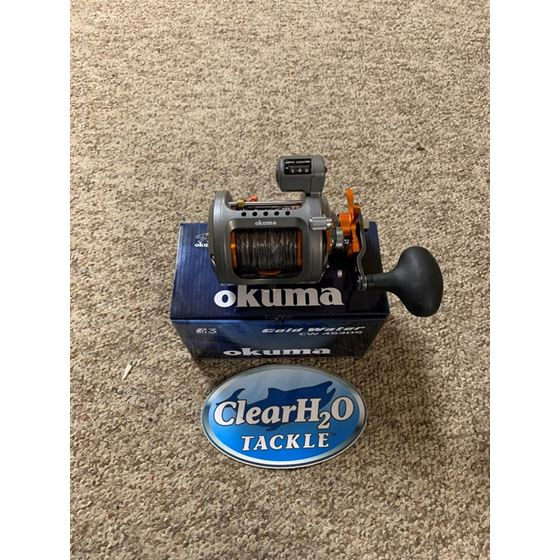 OKUMA COLDWATER CW453D PRE-SPOOLED WITH 45# TORPED