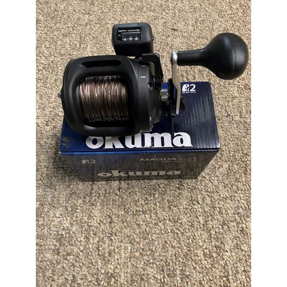 OKUMA MAGDA 45DXT PRE-SPOOLED WEIGHTED STEEL